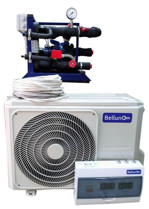 Чиллер и наружный блок сплит-системы Belluna.