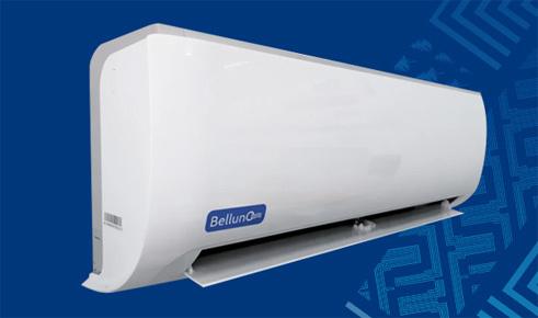 Внутренний блок холодильной сплит-системы Belluna серии Эконом и Лайт.